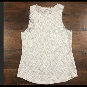 Free people stretchy lace top